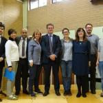 Eurospeak Directors with Member of Parliament Rob Wilson