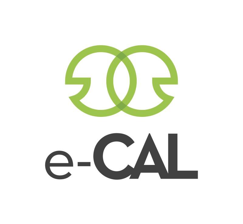 e-CAL LOGO vertical